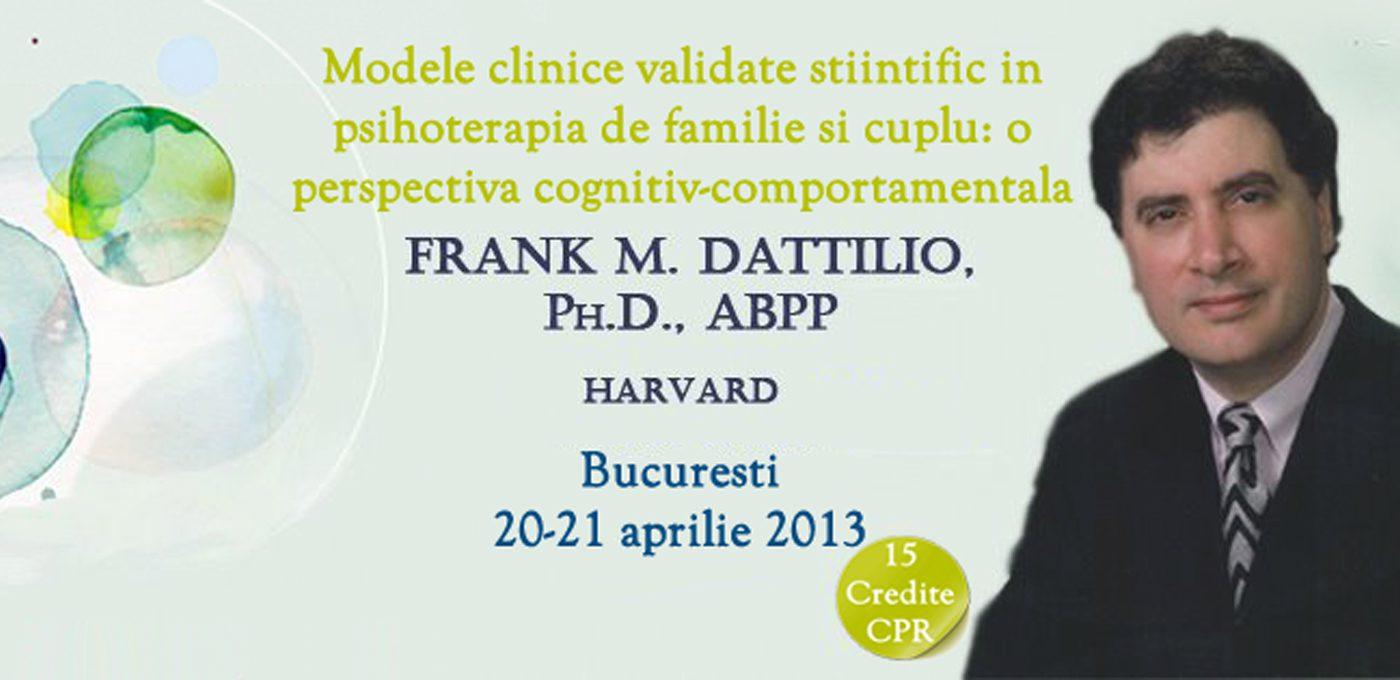 Frank M. DATTILIO, vine în România