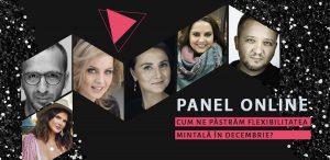 Panel online - Cum ne păstrăm flexibilitatea mintală în decembrie?
