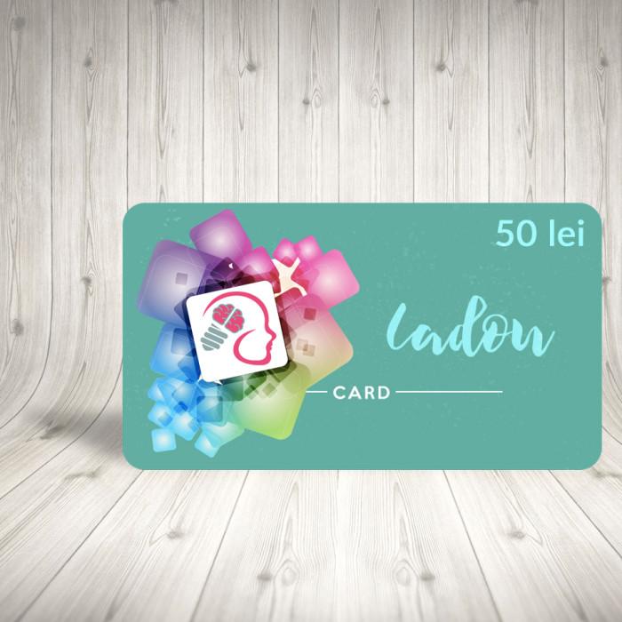 Card cadou 50 lei