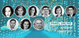 Panel online - Adio 2016! Salut 2017!